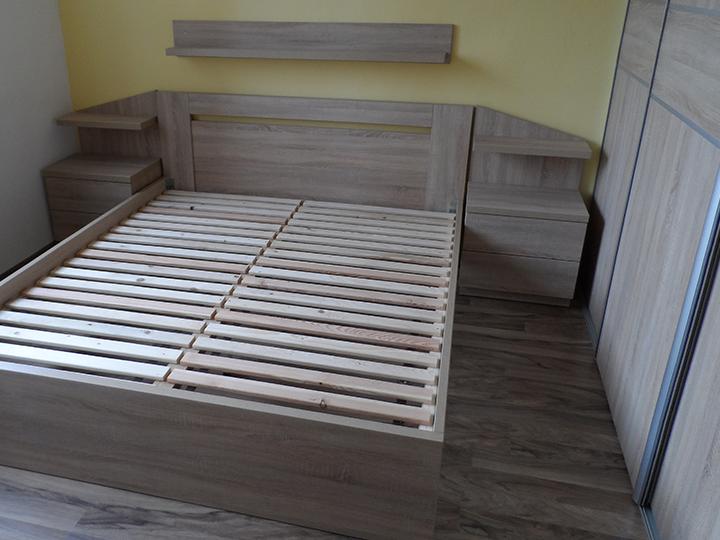 Spálne, postele a komody